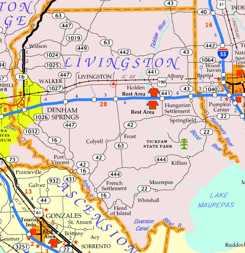 Livingston Parish Map Livingston Parish | Center for Louisiana Studies